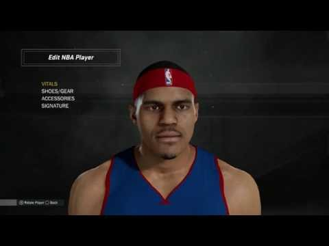 NBA 2K17 DETROIT PISTONS PLAYER FACES AND MODELS