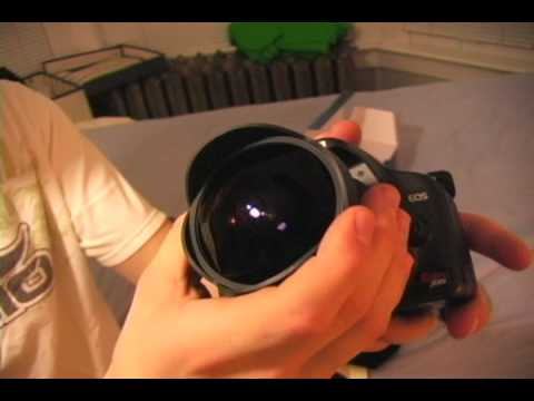 Lens Unboxing And Review: Part 1- The Pro Optic 8mm Fisheye