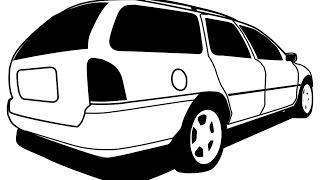 Ford Mondeo 1995  Wagon Pt. (1)  Ремонт  задней части