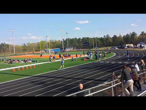 1600m - Fort Mill middle schools at PKMS - 4/11/18