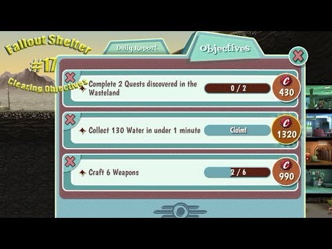 Fallout Shelter#17(Clearing Objectives)