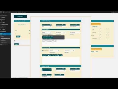 Wordpress portal builder user guide 1