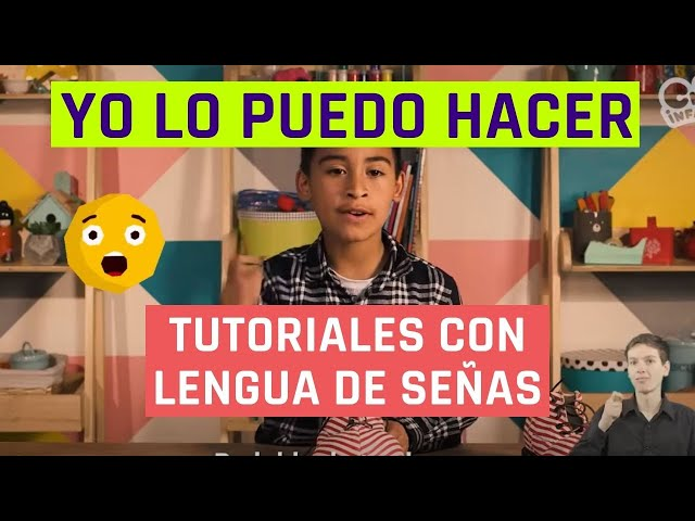 Yo lo puedo hacer | Burbujas de jabón | Videos en lengua de señas chilena para niños