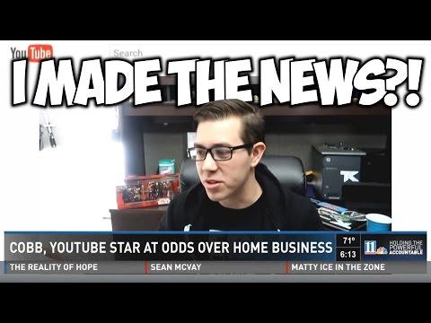 I MADE THE NEWS?!