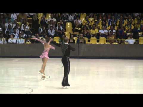 Laura Marzocchini & Enrico Fabbri SP World Roller Figure Skating Championships 2011