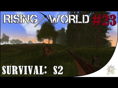 Rising World S2: Medieval Build #23 - Apothecary Part 2