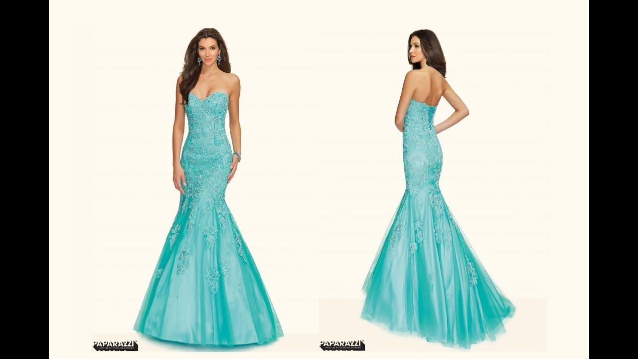 Mori Lee 98002 Mermaid Dress - YouTube