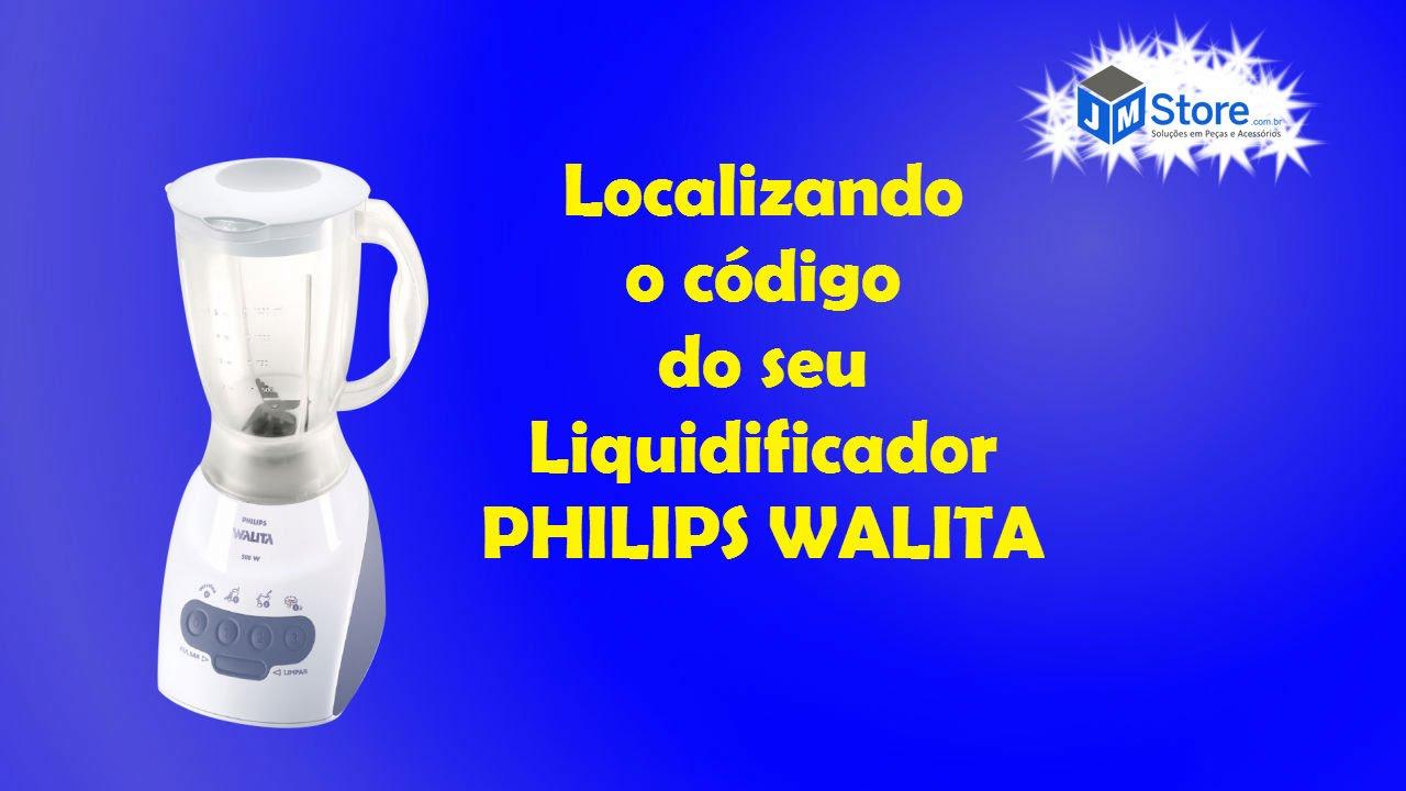 Tampa Cinza do Copo Acrílico para Liquidificador Philips Walita RI2044 (não  acompanha a tampinha pequena)