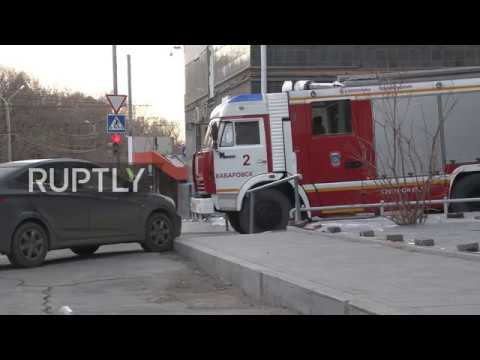 Russia: Two killed as gunman attacks Khabarovsk FSB office