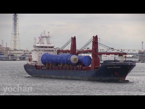 Heavy Pipe Modules transport - General Cargo Ship: BALTIC WINTER (IMO: 9467134)