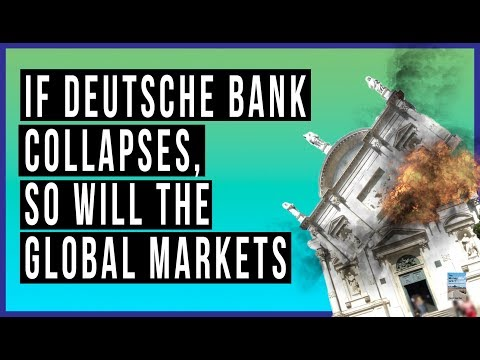 Deutsche Bank In PANIC MODE as Stock Near RECORD LOW and Market Shows MASSIVE Outflows!