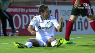Resumen del CD Mirandés vs Getafe CF (1-1)