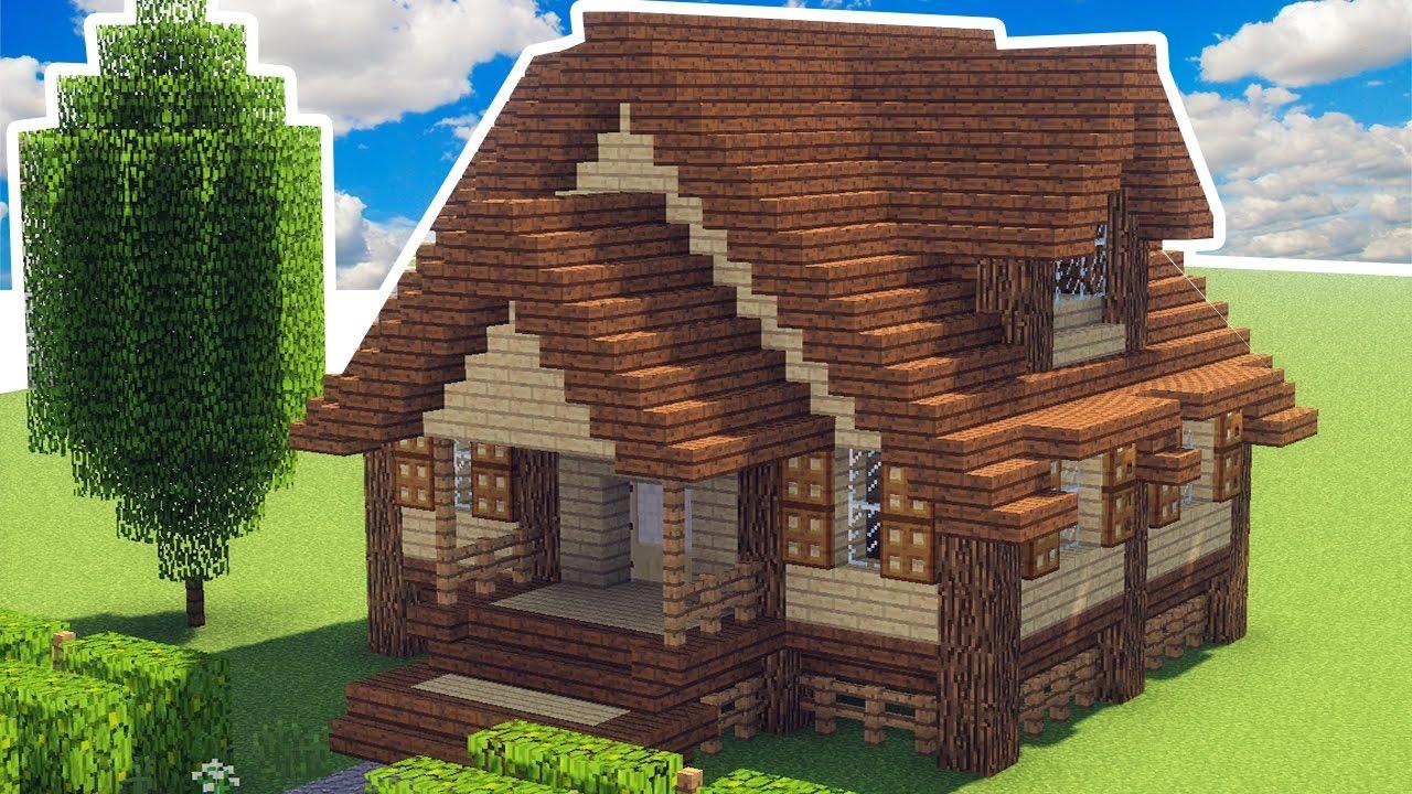 Minecraft como fazer uma casa de fazenda manya youtube for Minecraft videos casas