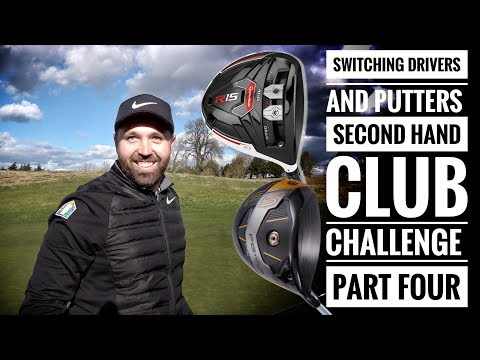 SWITCHING DRIVER AND PUTTER! Golfbidder Second Hand Club Challenge - Rick vs Pete - Part Four