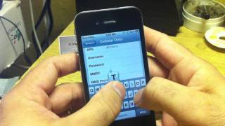 iPhone 4S H2O Wireless MMS Setting with no Jailbreak necessary