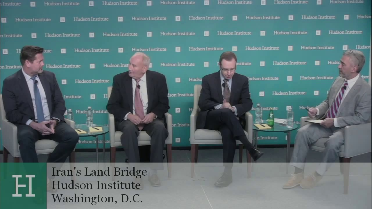 Iran's Land Bridge: Countering a Growing Influence in the Middle East