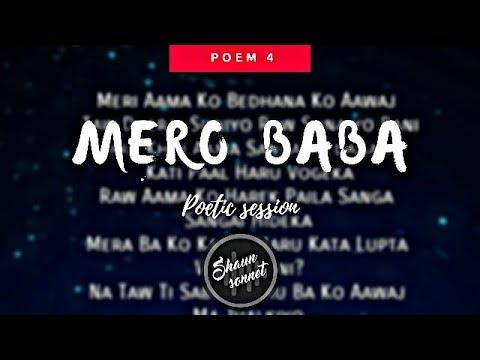 Mero Baba - Nepali Poem ll Shaun Sonnet