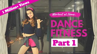 Bollywood Dance Fitness Workout at Home | 20 Minutes Fat Burning Cardio
