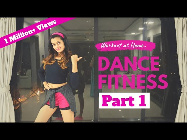 Bollywood Dance Fitness Workout at Home | 20 Minutes Fat Burning Cardio : Part 1