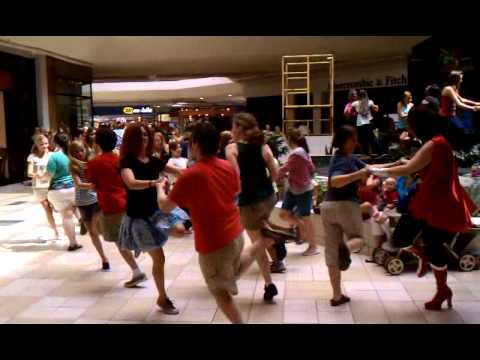 Chattanooga CURB Flashmob at Hamilton Place