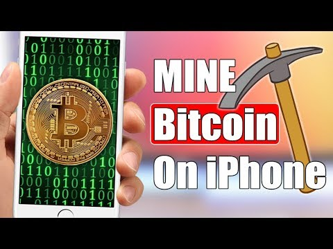 Mine Bitcoin / Cryptocurrency On iPhone