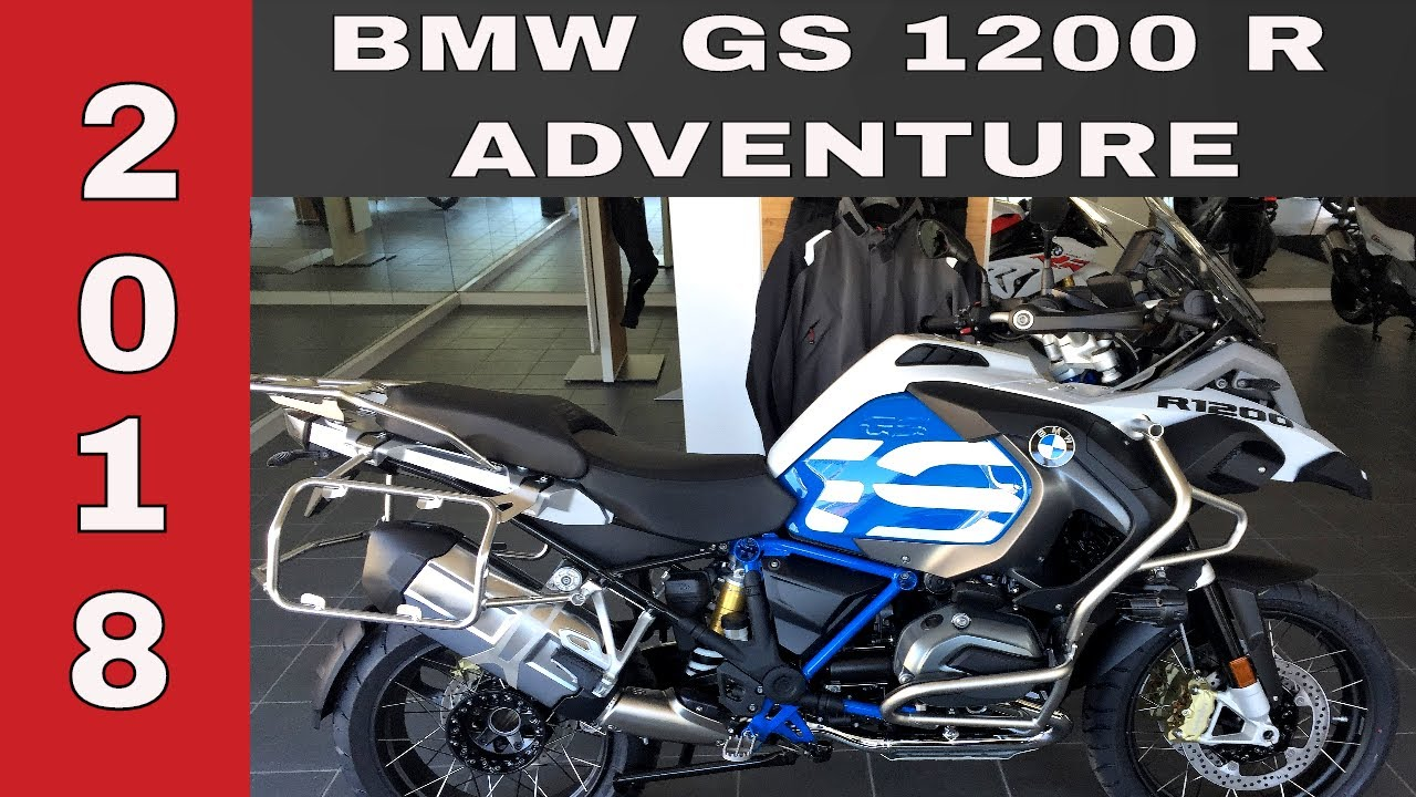 bmw gs 1200 adventure 2018 rally youtube. Black Bedroom Furniture Sets. Home Design Ideas