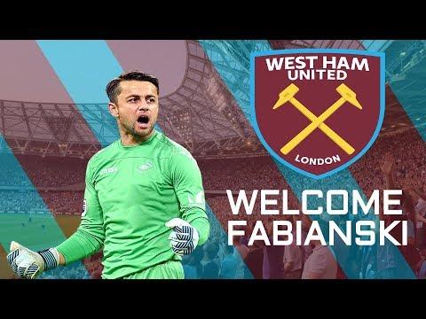 WELCOME TO WEST HAM?- Lukas Fabianski Unbelievable Saves!!