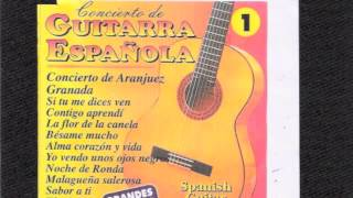 """Spanish Classic Guitar   """"Granada"""""""