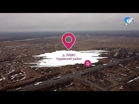 Колокольня #4 д. Зуево, Чудовский район, грязная вода