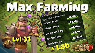 CLASH OF CLANS - FARMING MAX TH10! 21+ MILLION LOOT DROPPED