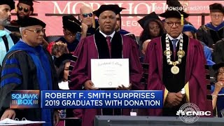 Billionaire Robert F. Smith pledges to payoff 2019 Morehouse grads' student loans