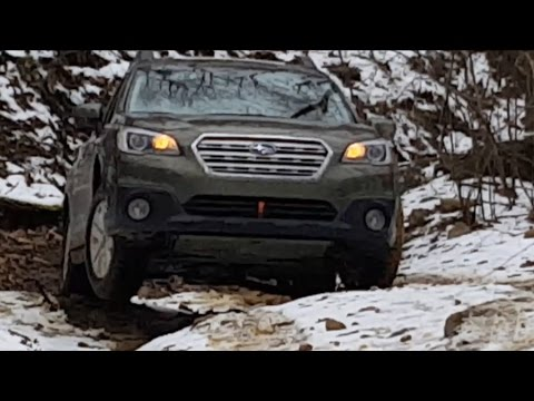 2015 Subaru Outback Off Road gets its wheels in the air!