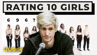 xQc Reacts to 10 vs 1: Rating Girls By Looks & Personality | Versus 1