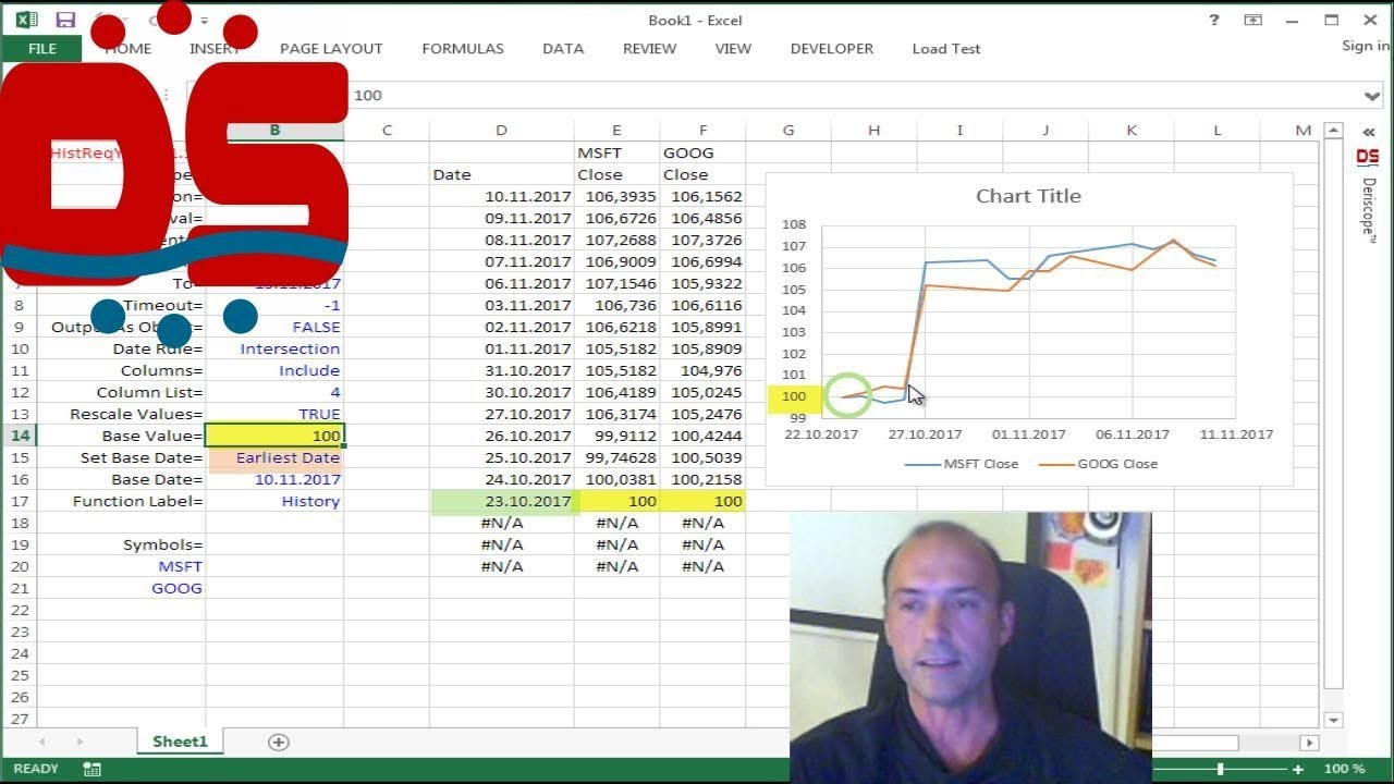 It is still possible to get historical data from Yahoo Finance to Excel