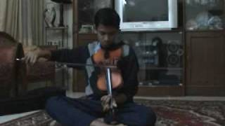 Indian Classical Violin (Hamsadhwani raga)
