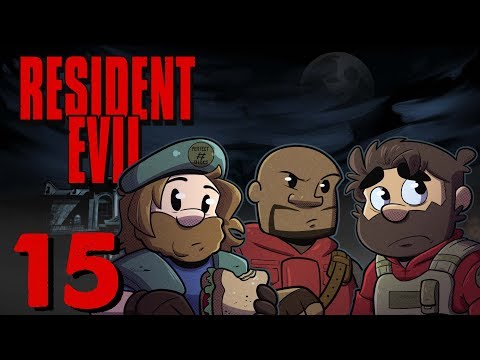 Resident Evil HD Remake | Let's Play Ep. 15 | Super Beard Bros.