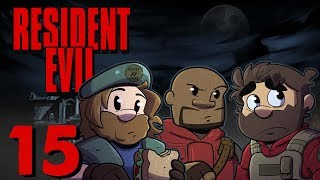 Resident Evil HD Remake | Let's Play Ep. 15 | Super Beard Bros.