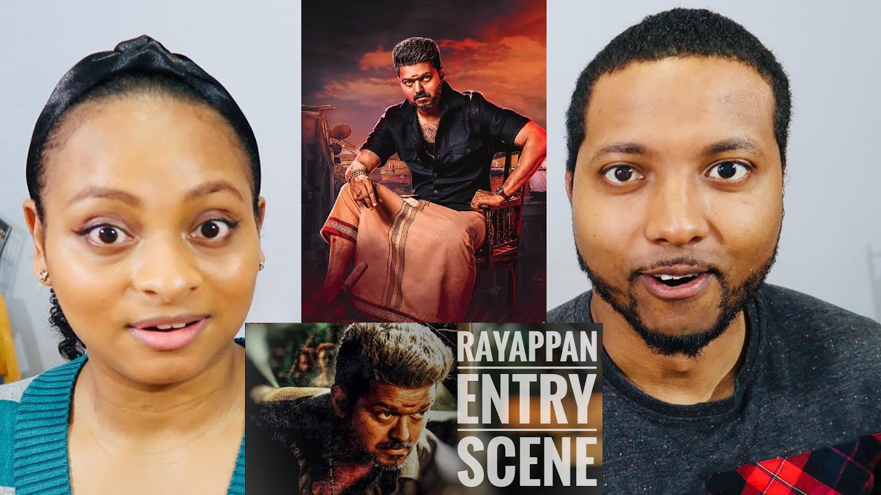 RAYAPPAN MASS INTRO SCENE | Bigil | Thalapathy Vijay | Jamaicans React & Discuss