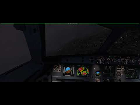 {P3D} shit weather LIML Milano linate approach