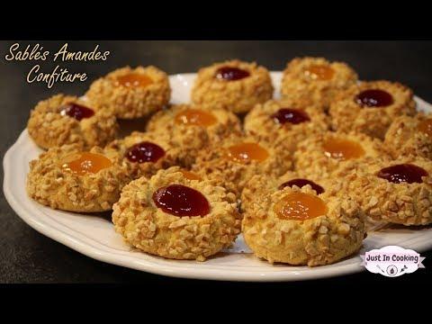 recette-de-biscuits-aux-amandes-et-à-la-confiture