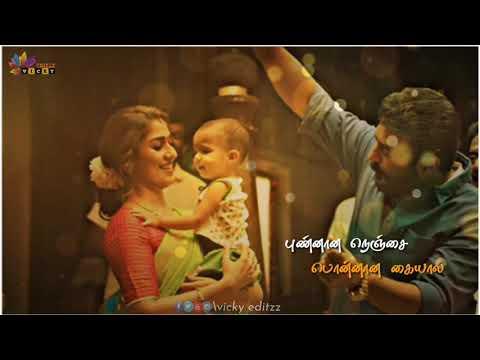 💕கண்ணானா-கண்ணே💕 ajith-mass-status ajith-cut-songs kannana-kanne-song-status new-tamil-status vicky