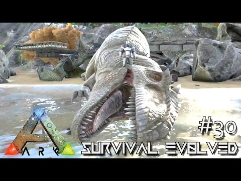 ARK: Survival Evolved - TAMING GIGANOTOSAURUS NEW DINO !!! [Ep 30] (Server Gameplay)