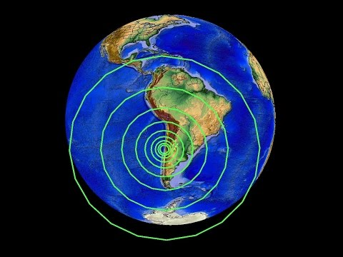 9/16/2015 -- Large M8.3 Earthquake Strikes Chile -- Tsunami warning issued -- Pacific Unrest Obvious