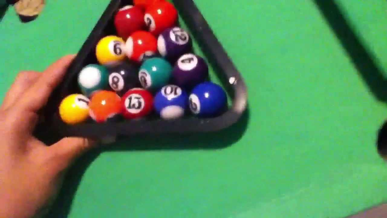 Mini Pool Table Review   YouTube