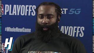 James Harden Postgame Interview - Game 7 | Thunder vs Rockets | September 2, 2020 NBA Playoffs