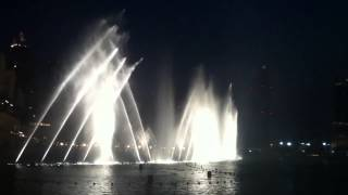Dubai fountain indian song