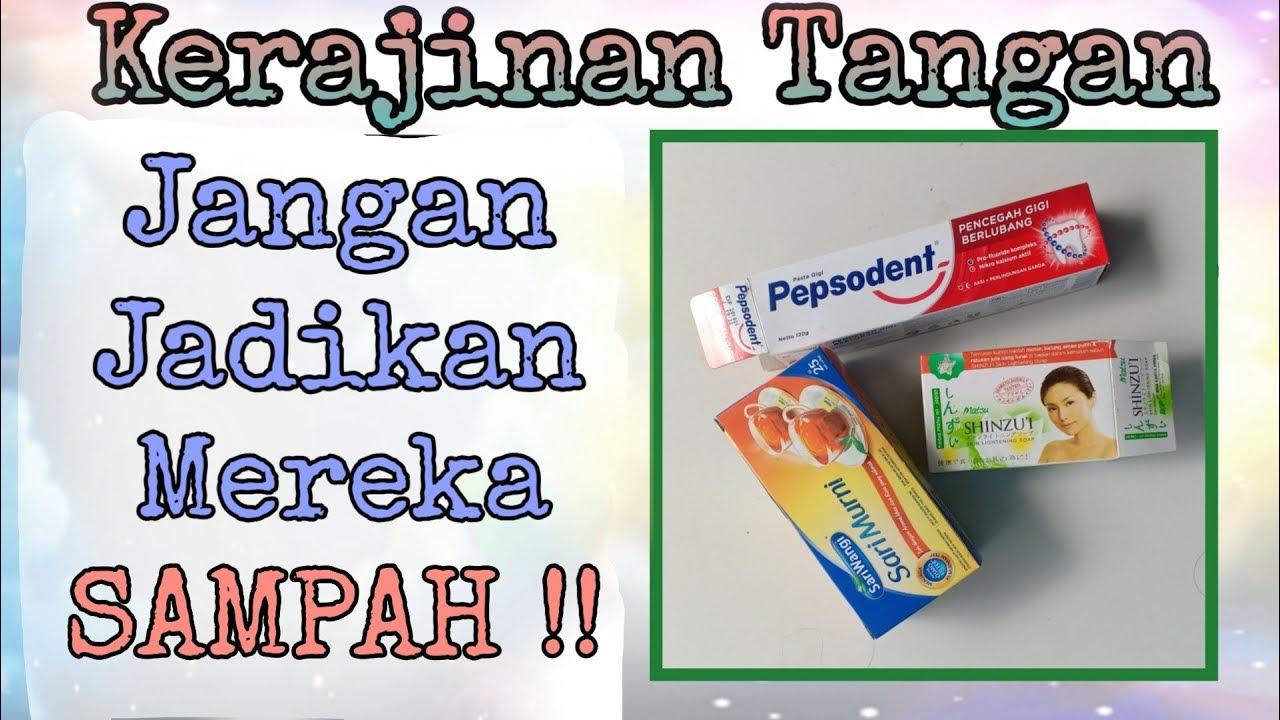 Ide Kerajinan Tangan Kotak Pasta Gigi & Kotak Sabun Mandi ...