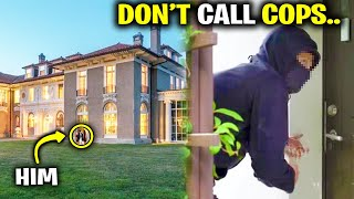 Crazy Guy ROBBED My Mansion.. (Fortnite)