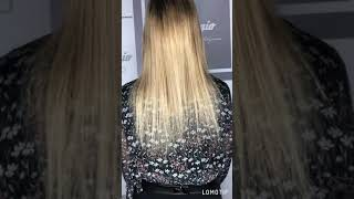 Итальянский метод наращивания волос