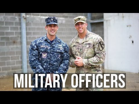 Military Officers: Army ROTC vs. Navy OCS